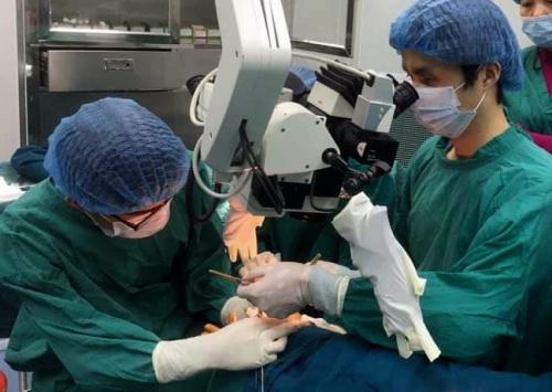 Nối 4 ngón tay bị đứt lìa cho nam thanh niên 29 tuổi