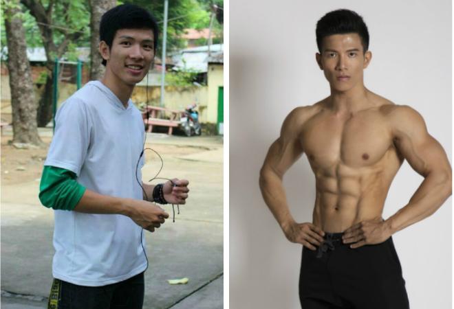 Chàng trai ăn 2 kg thịt gà mỗi ngày trước khi thi thể hình