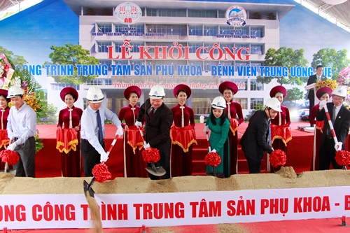 Bệnh viện Trung ương Huế xây trung tâm sản phụ khoa