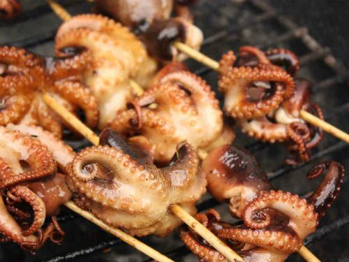 Ăn bạch tuộc giúp tăng cơ bắp