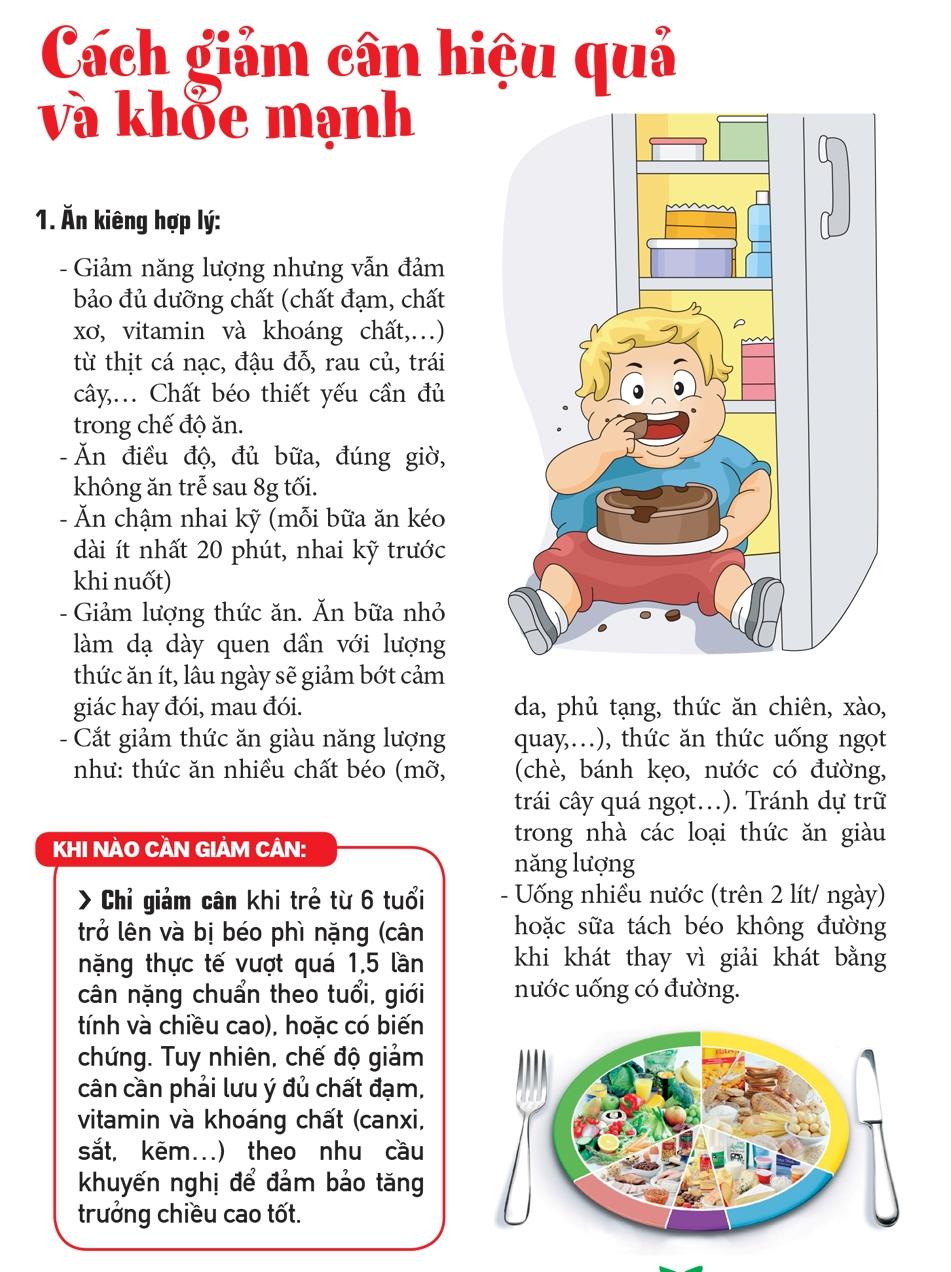 giamcan16 nutifood 1440474413 Cách ăn uống giảm cân, ngừa béo phì nhahanghanoi.vn
