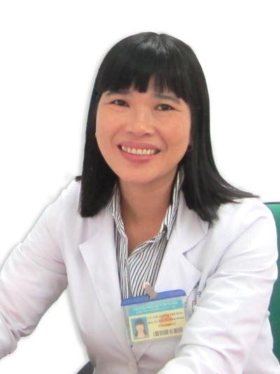 Bác sĩ Lê Thị Tuyết Phượng.