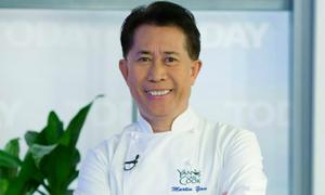 Vua bếp Yan Can Cook ăn chay để trẻ khỏe ở tuổi U70