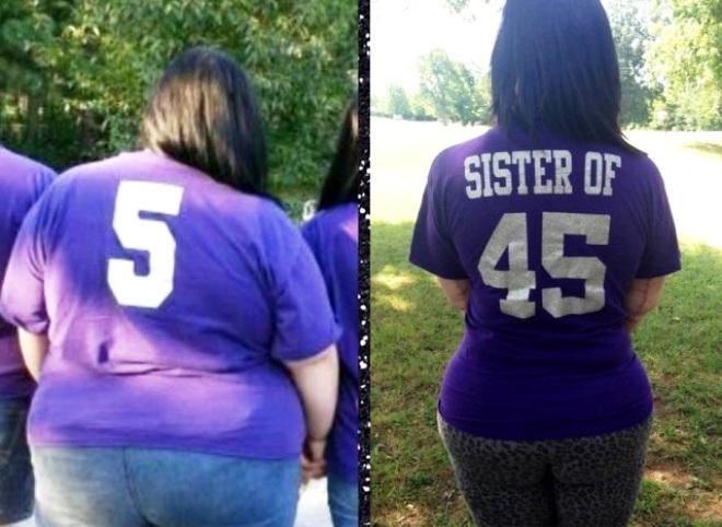 Cô gái giảm 93 kg nhờ ăn kiêng và tập thể dục