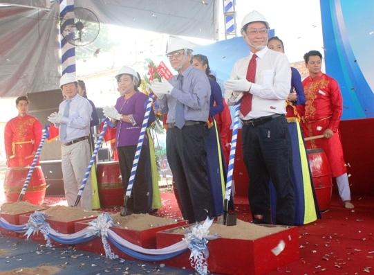 Lễ khởi công xây dựng ngày 18/12. Ảnh: Lê Phương.