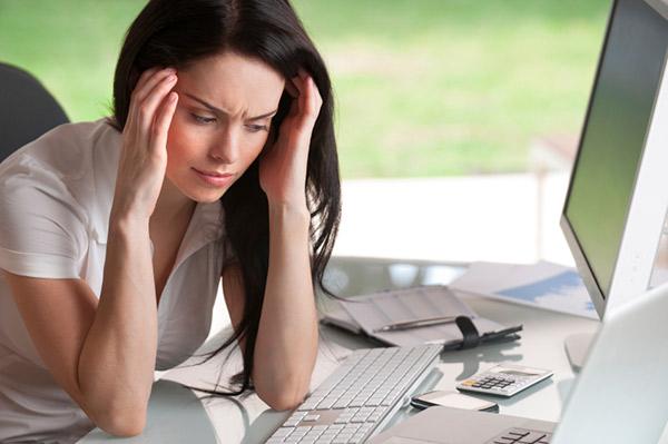 Áp lực, stress thường xuyên đẩy nhanh quá trình lão hóa da ở phụ nữ.