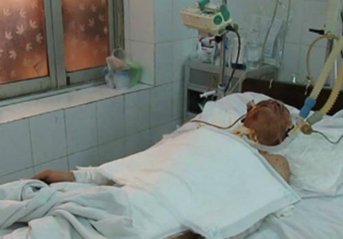 Tài xế gặp nạn do vụ nổ ở Hà Đông tử vong 1