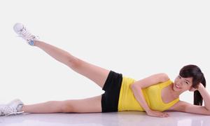 8 phút tập luyện cho phái đẹp đôi chân thon