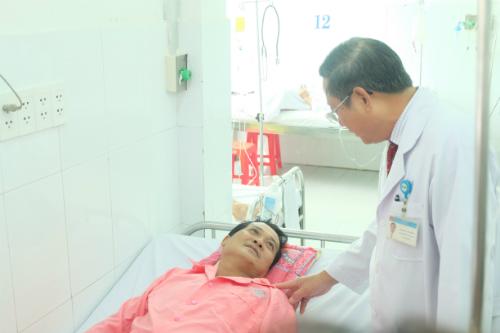 Bệnh nhân dần hồi phục và sắp được xuất viện. Ảnh: T.P