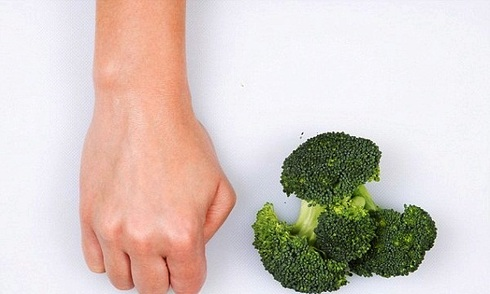 Cách ước lượng chính xác khẩu phần ăn qua bàn tay