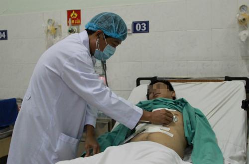 Bệnh nhân hiện hồi phục sức khỏe tốt. Ảnh: T.P