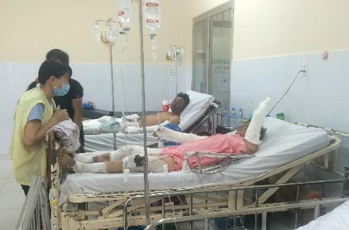 Nhiều bệnh nhân bỏng nặng sau vài tháng điều trị vẫn chưa thể hồi phục. Ảnh: T.P