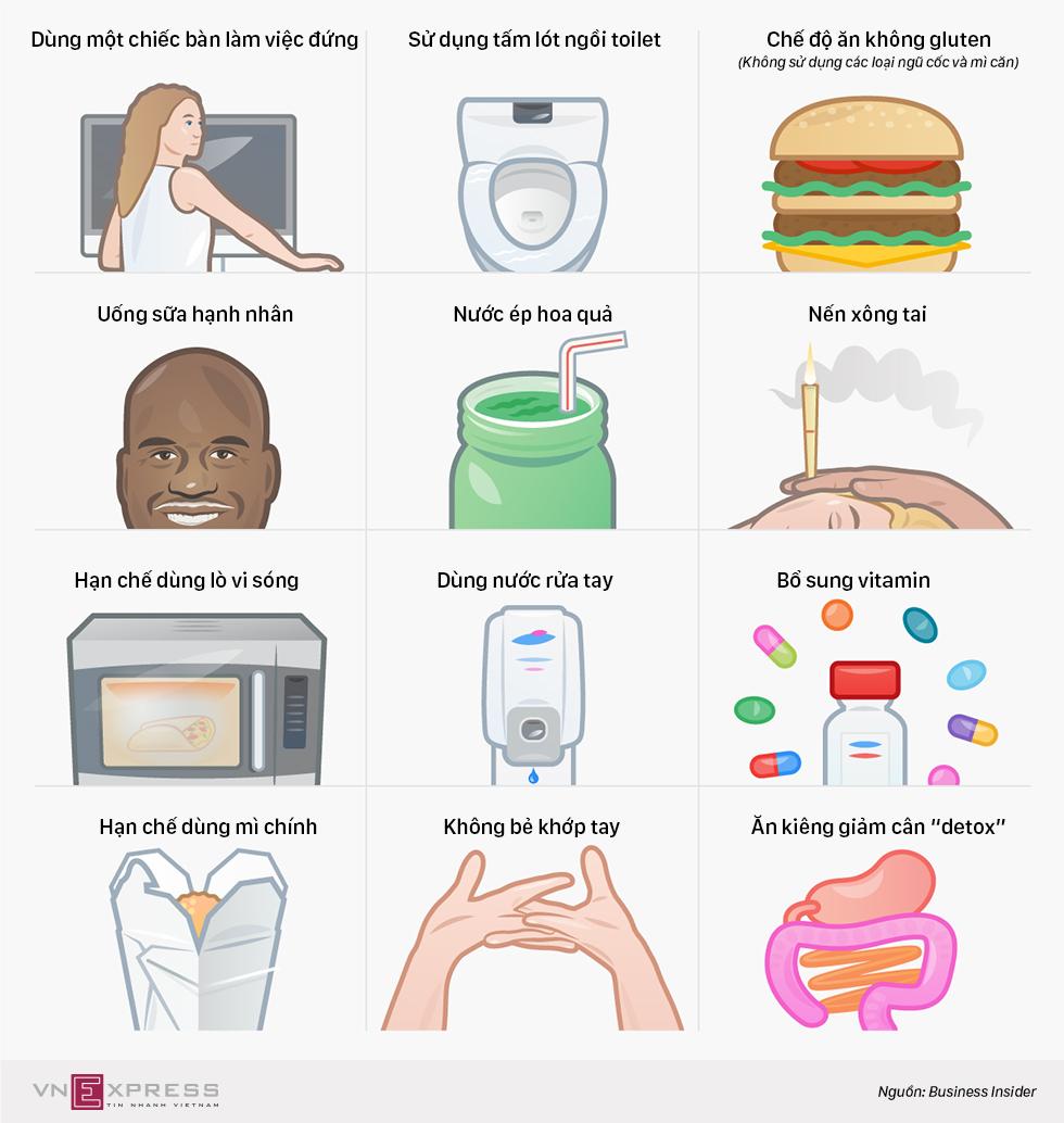 12 thói quen 'tốt cho sức khỏe' bạn nên từ bỏ