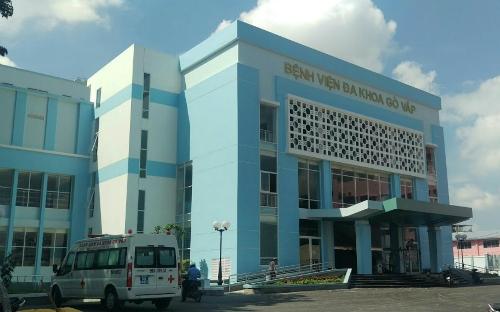 Bệnh viện quận Gò Vấp. Ảnh: B.V