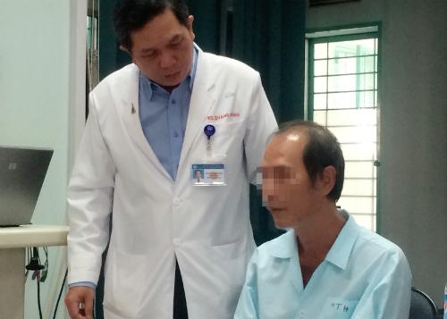 Bệnh nhân hồi phục tốt sau mổ. Ảnh: T.P
