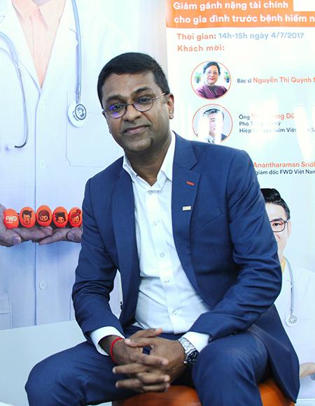 Ông Anantharaman Sridharan. Ảnh: Hà Mai