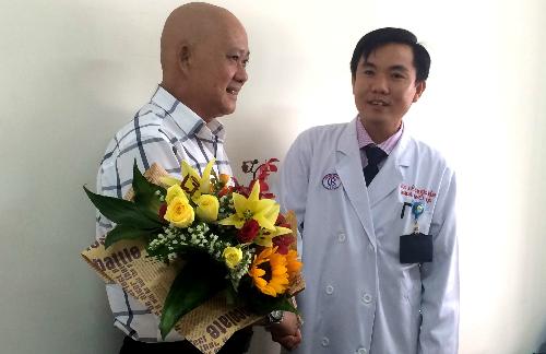 Bệnh nhân hồi phục khỏe mạnh sau khi ghép tế bào gốc. Ảnh: Lê Phương.