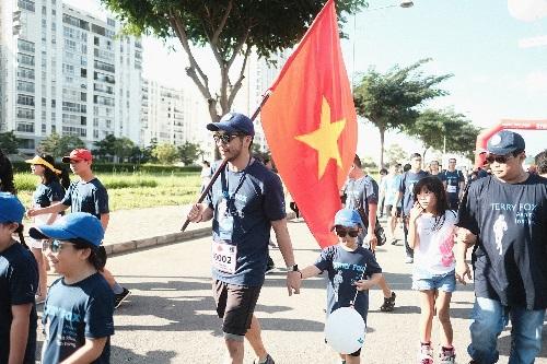 Cuộc chạy Marathon hy vọng tại Việt Nam năm ngoái