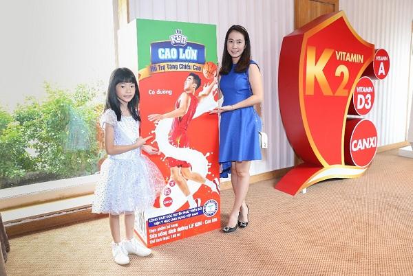 ra mắt sản phẩm bổ sung canxi, vitamin D3 và K2 dành cho trẻ tuổi tiền dậy thì ngày 26/10.