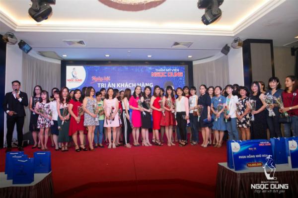Ngày hội tri ân với sự tham gia của hơn 400 khách hàng thân thiết.