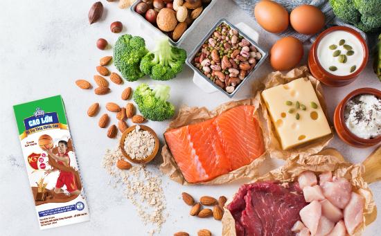 Các thực phẩm tự nhiênhỗ trợ tăng chiều cao.