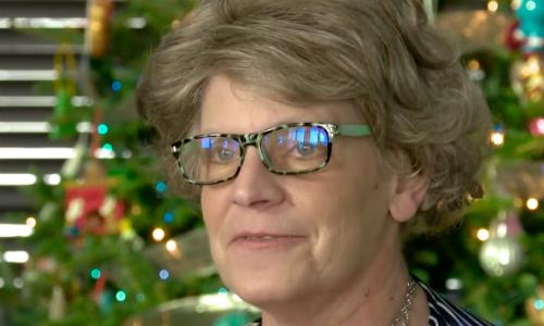 Trải qua 12 ngày không thức ăn, nước uống và oxy hỗ trợ, Sheila hồi phục một cách kỳ diệu. Ảnh: NBC.