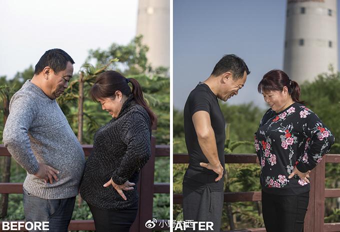 Cả gia đình cùng lột xác sau 6 tháng luyện tập