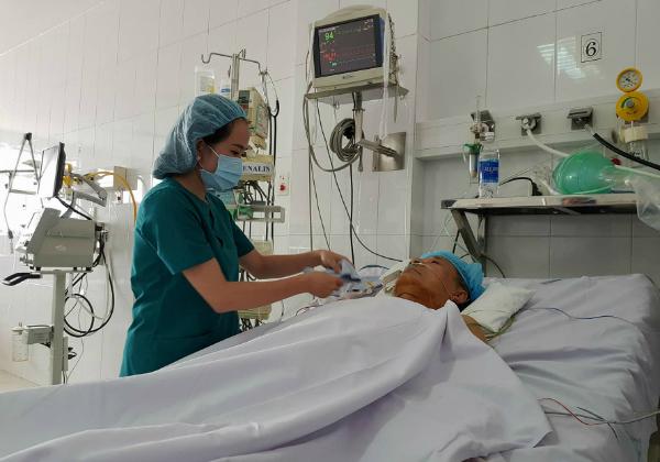 Bệnh nhân hồi phục sức khoẻ tốt sau ca mổ. Ảnh: Lê Phương.