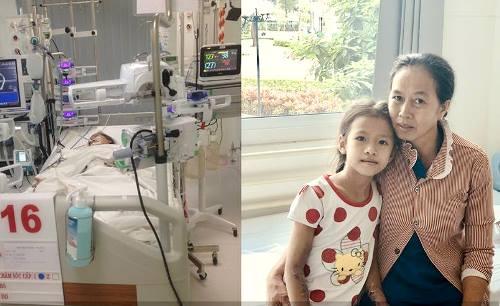 Bé gái sốc xuất huyết cận kề cửa tử, bác sĩ vẫn quyết cứu chữa