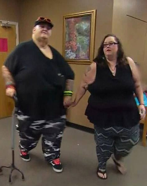 Lee và Rena sau khi giảm cân. Ảnh: TLC.