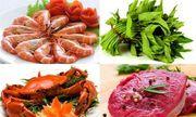Có nên kiêng ăn rau muống, hải sản sau khi nâng ngực?