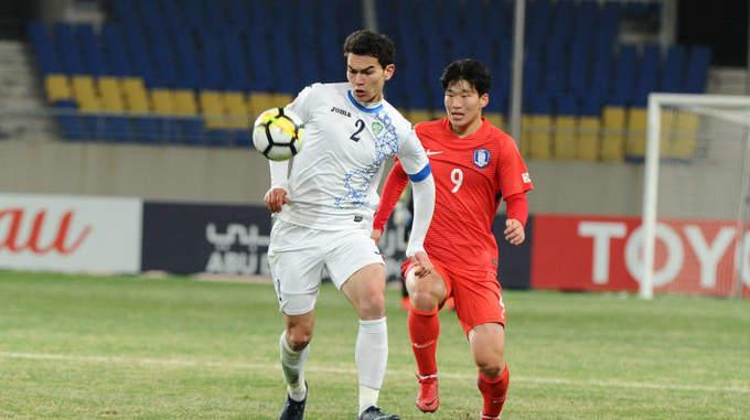 Thể hình vượt trội của các cầu thủ U23 Uzbekistan
