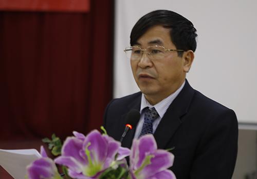ÔngNguyễn Xuân Hồng,Phó Giám đốc Sở Y tế Nghệ An. Ảnh: Nguyễn Hải.