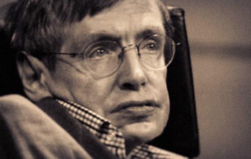 Chân dung giáo sư Stephen Hawking. Ảnh: Lurlo.