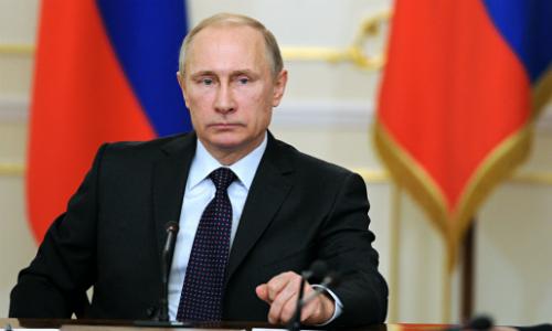 Tổng thống Nga Putin. Ảnh:Talon News.