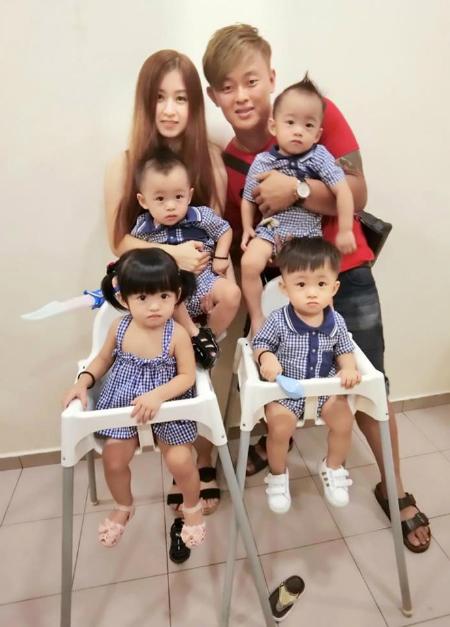 Bà mẹ 23 tuổi khoe bụng rạn sau khi sinh 4 con