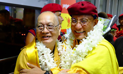 Pháp Vương Drukpa đến TP HCM