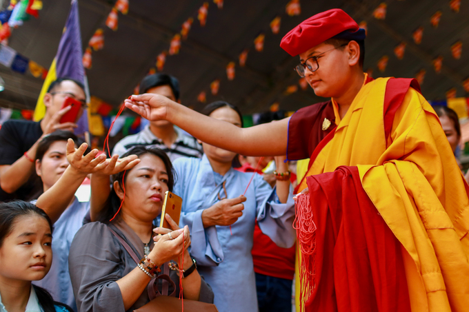 100 cao tăng tháp tùng Pháp Vương Drukpa đến Việt Nam