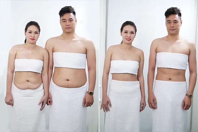 Cặp vợ chồng giảm béo thành công, thoát cảnh thùng phuy di động - 3