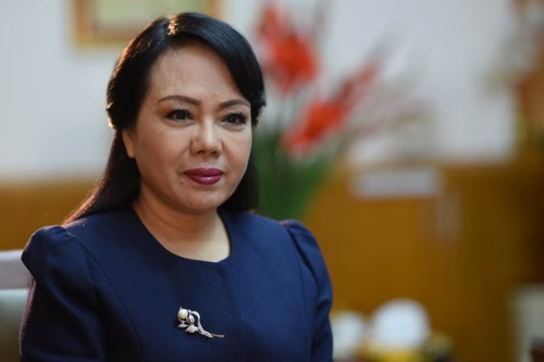 Bộ trưởng Y tế Nguyễn Thị Kim Tiến.
