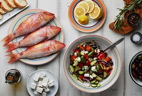 Chế độ ăn Địa Trung Hải.