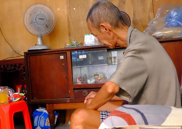 Ông Minh hiện đã trở về nhà. Ảnh: L.P