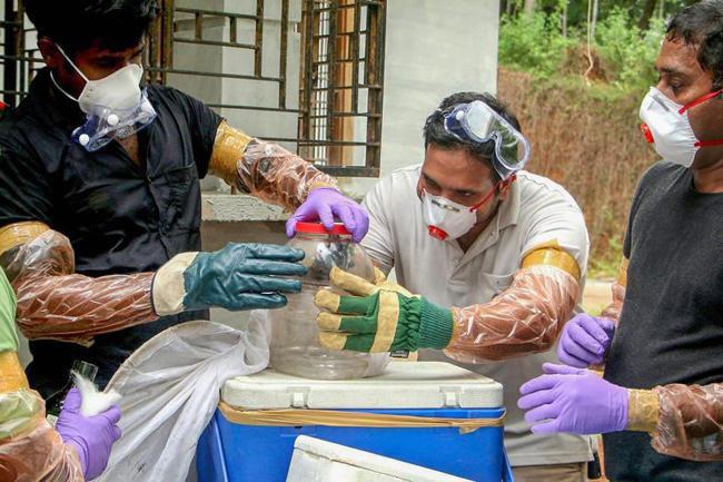Giới chức y tế Ấn Độ đang làm mọi biện pháp để ngăn ngừa dịch lây lan.