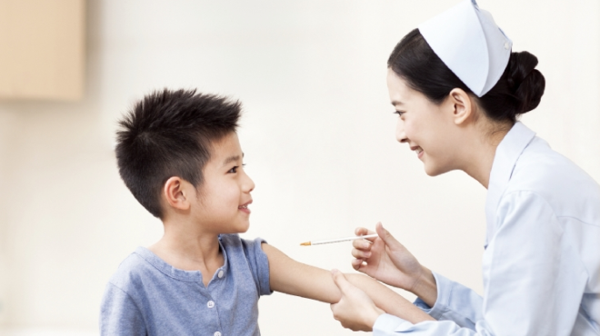 Tiêm vắc xin là cách phòng thủy đậu hiệu quả. Ảnh: Ctidoma