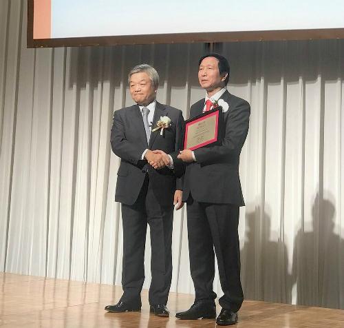 Bác sĩ Việt Nam nhận giải Nikkei châu Á lĩnh vực khoa học công nghệ - ảnh 1