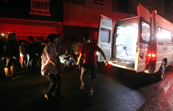 5 bài học cấp cứu nạn nhân thảm họa cháy chung cư Carina - ảnh 1