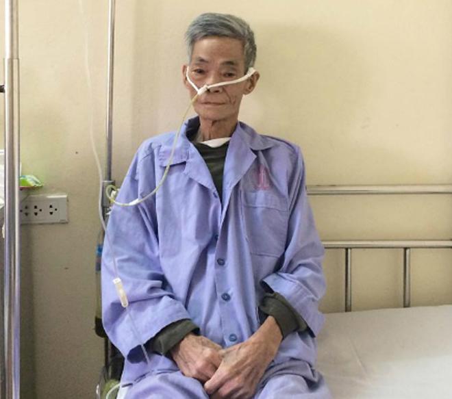 Ông Quynh khi còn sống đã quyết định lúc chết hiến giác mạc cứu người. Ảnh: Bệnh viện cung cấp.