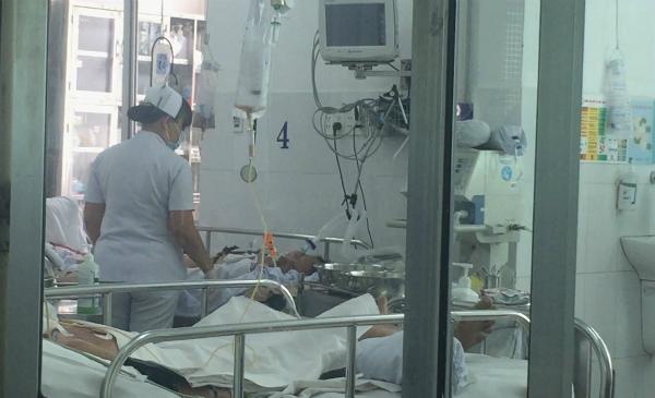 Bệnh nhân cúm A/H1N1 điều trị cách ly tại Bệnh viện Chợ Rẫy. Ảnh: L.P