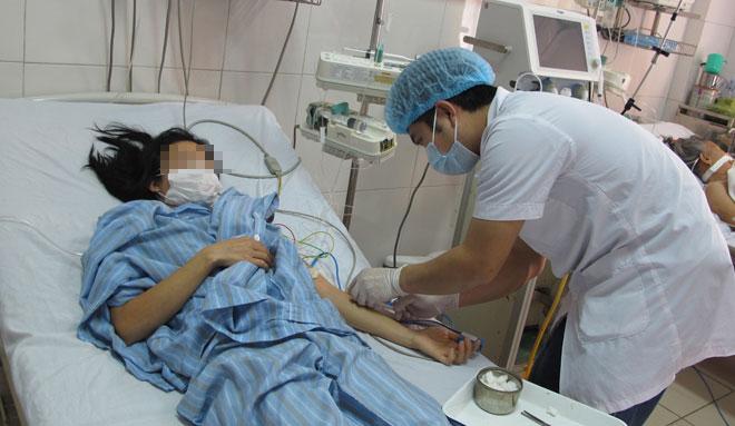 Bệnh nhân nhiễm cúm A(H1N1) cần được phát hiện sớm, cách ly kịp thời tránh lây cho bệnh nhân khác. Ảnh minh họa: N.P.