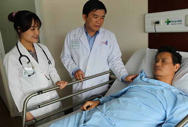 Bệnh nhân hồi phục sau cuộc mổ. Ảnh: P.T